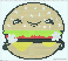 photo collection minecraft pixelart burger