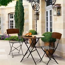 Patio Bistro Table Bombay Outdoors Lucia Patio Bistro Set The Outdoor Metal Bar