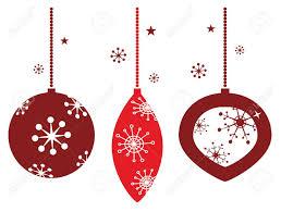 elegant christmas balls decoration in retro style royalty free