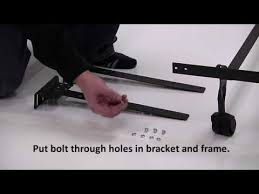 footboard extender a ext set up video youtube
