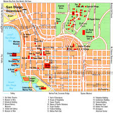 san francisco map sightseeing 12 top tourist attractions in san diego planetware