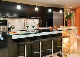kitchen color ideas with oak cabis and black appliances design