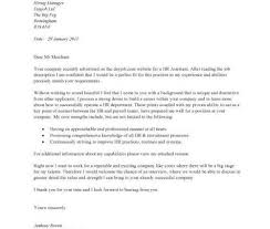 how to write a cover letter to human resources human resources