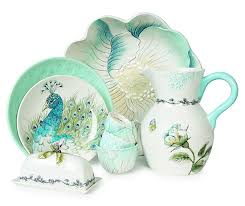 pastel blue dinnerware selections for your easter table dot