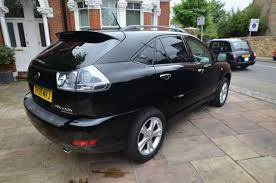 used lexus rx400h for sale uk second hand lexus rx 400h 3 3 executive limited edition 5dr cvt