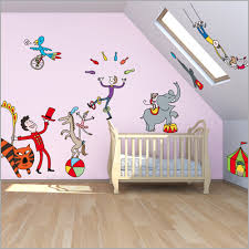 chambre cirque sticker chambre adulte 761902 soledad bravi stickers le cirque by
