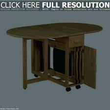 drop leaf table with folding chairs stored inside drop leaf table with chairs great drop leaf table and folding chairs