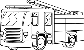 fire truck free download coloring wecoloringpage
