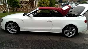 audi a5 roof audi a5 cabriolet convertible 8f roof opening with one touch of