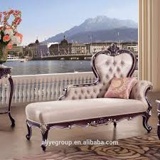 tyx601 european style antique chaise lounge sofa chair for bedroom