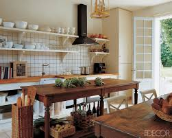 Small Country Kitchen Decorating Ideas by Elle Decor Kitchens 15 Rustic Kitchen Decor Ideas Country Kitchens