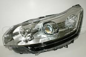 citroen c5 2010 led drl dbl xenon headlight left oem ebay