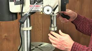 tune up your drill press youtube