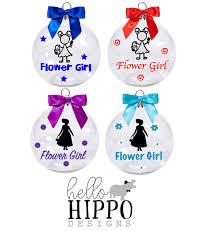 flower girl ornament christmas ornament for flower girl flower girl ornament