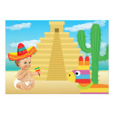 mexican baby shower mexican baby shower invitations announcements zazzle