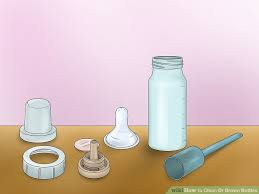3 ways to clean dr brown bottles wikihow