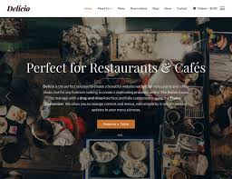 50 Best Wordpress Restaurant Themes 2017 Athemes