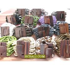 beaded bracelet clasp images Bead bracelet wooden buckles clasps stretching wholesale alot jpg