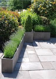 Large Planter Box by Best 25 Rectangular Planters Ideas On Pinterest Rectangular