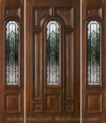 spectacular wood door with sidelights 13 for your home design