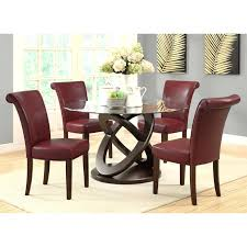 Dining Room Chair Pillows Dining Chairs Burgundy Dining Room Set Leather Chairs Chair
