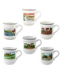 coffee mug design naif villeroy boch home living
