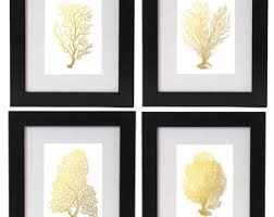Gold Wall Decor by Gold Wall Decor Etsy