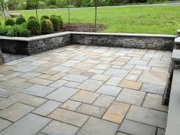 Paving Stone Designs For Patios Pennsylvania Bluestone Natural Cleft Flagging Blue Stone Patio