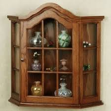 wall cabinets small wall curio cabinet foter