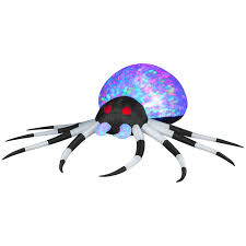 kaleidoscope spider inflatable airblown halloween decoration