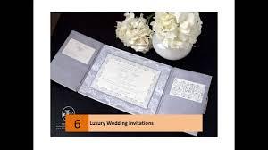 luxury wedding invitations youtube