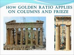Parthenon Interior Parthenon And Golden Ratio