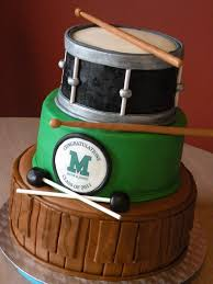 24 Best Drum Birthday Cakes Images On Pinterest Drum Cake Drum