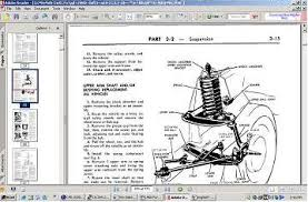 1968 mustang front suspension 1968 ford and mercury shop manual