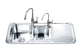 Kitchen Sinks With Drainboards Single Bowl Kitchen Sink W Drainboard Stainless Steel With