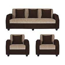 sofa set bharat lifestyle italia fabric 5 seater sofa set 3 1 1