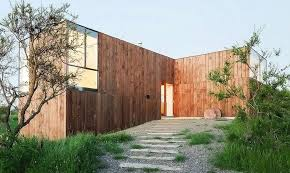 design house studio valparaiso minimalist timber cml house in chile features a unique pinwheel