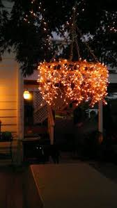 How To Make An Outdoor Chandelier Amazing Outdoor Chandelier Crafted From A Cast Off Giant Fan Cover