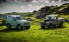 british land rover defender defender of the faith driving every generation of land rover