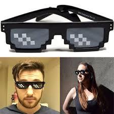 Glasses Meme - deal with it 8 bit pixel black framed glasses sunglasses meme thug