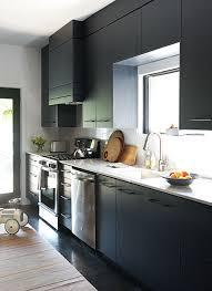 deco cuisine noir et blanc cuisine americaine noir et blanc photos de design d intérieur et