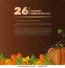 thanksgiving day design usa november 24th stock vector 486507829