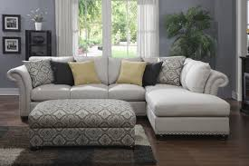 living room modern small space sectional sofa in beige sofas for