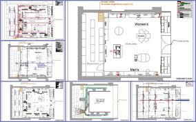 apparel store design plan n design