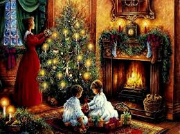 fireplace christmas wallpapers hubpages