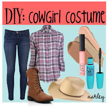 Cowgirl Halloween Costume Diy Cowgirl Halloween Costume Polyvore