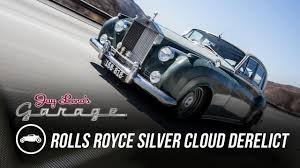 rolls royce modified 1958 rolls royce silver cloud derelict jay leno u0027s garage youtube
