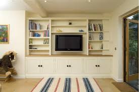TV And Family Room - Family room shelving