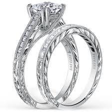 hand engraved rings images Kirk kara quot stella quot hand engraved diamond engagement ring jpg