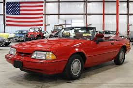 1992 ford mustang 1992 ford mustang for sale mcg marketplace